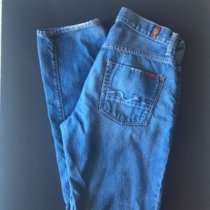 """7 for all Mankind """" the straight"""" Jeans"""